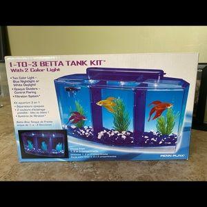 1 to 3 Betta Tank Kit